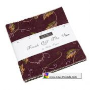 "Fresh Off the Vine - Charm Pack by Holly Taylor for Moda Fabrics - 42 x 5"" fabric squares"